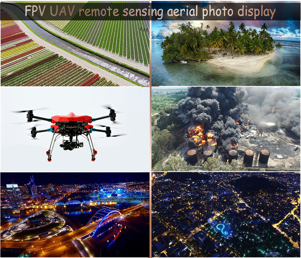 Application of Remote Sensing Aerial Photogrammetry in FPV Unmanned Aerial Vehicle