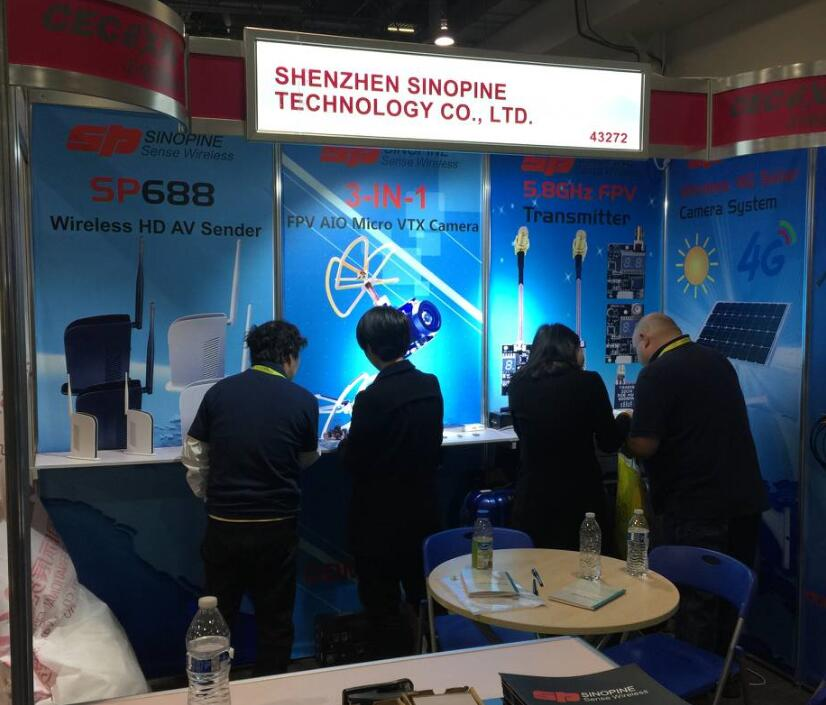 Sinopine's products were praised by consumers in the 2017 CES