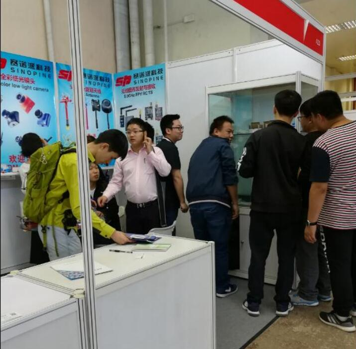 Sinopine's show on Hobby Expo China 2017 with praise around
